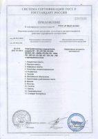 Фотоэлектроколориметр AP-101 Приложение к сертификату соответствия